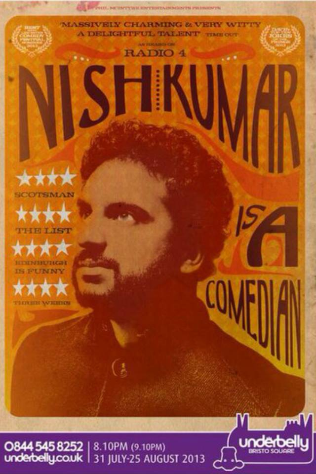 Nish Kumar Is a Comedian