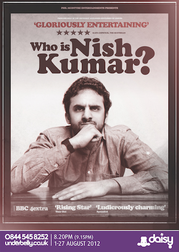 Who Is Nish Kumar?